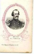 09x078.14 - Major General A. S. Johnson C. S. A., Civil War Portraits from Winterthur's Magnus Collection